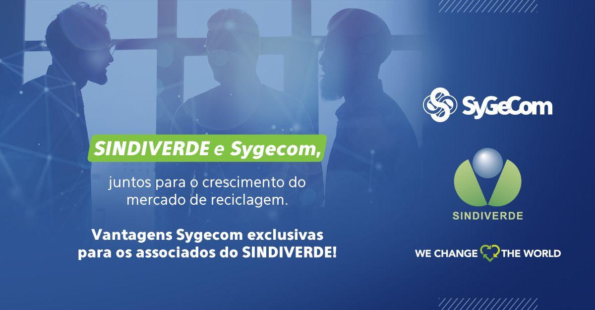 SINDIVERDE e Sygecom, juntos para o crescimento do mercado de reciclagem
