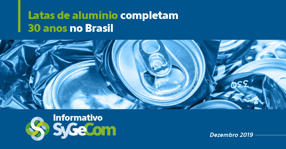 Latas de alumínio completam 30 anos no Brasil