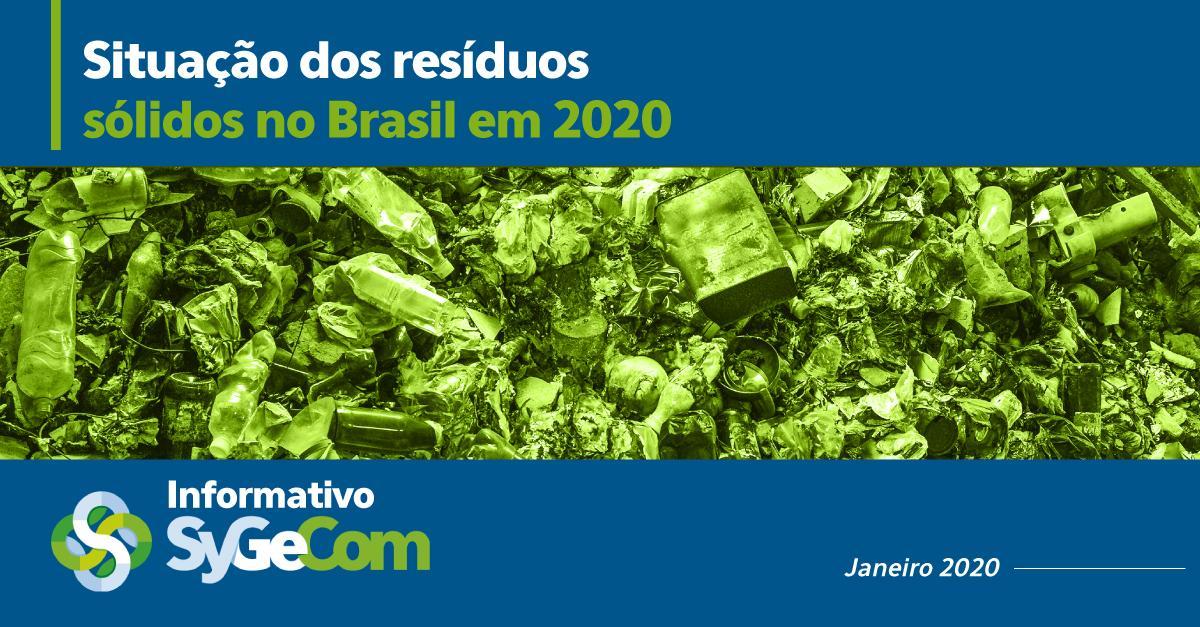 Situação dos resíduos sólidos no Brasil em 2020