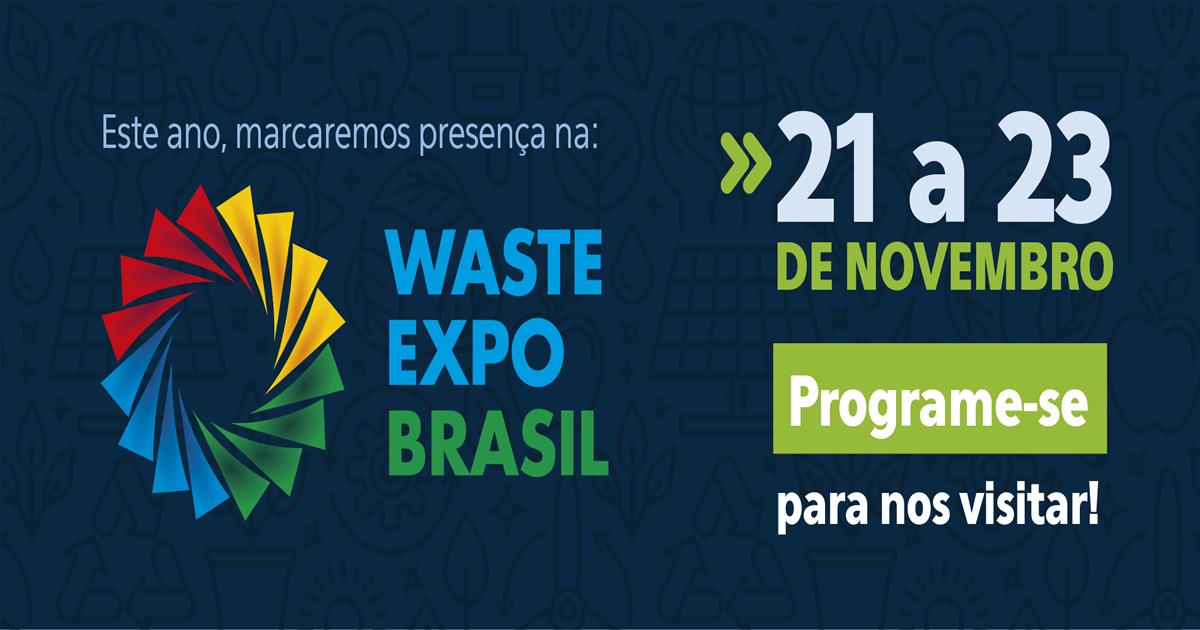 SYGECOM confirma presencia en WASTE EXPO BRASIL FAIR