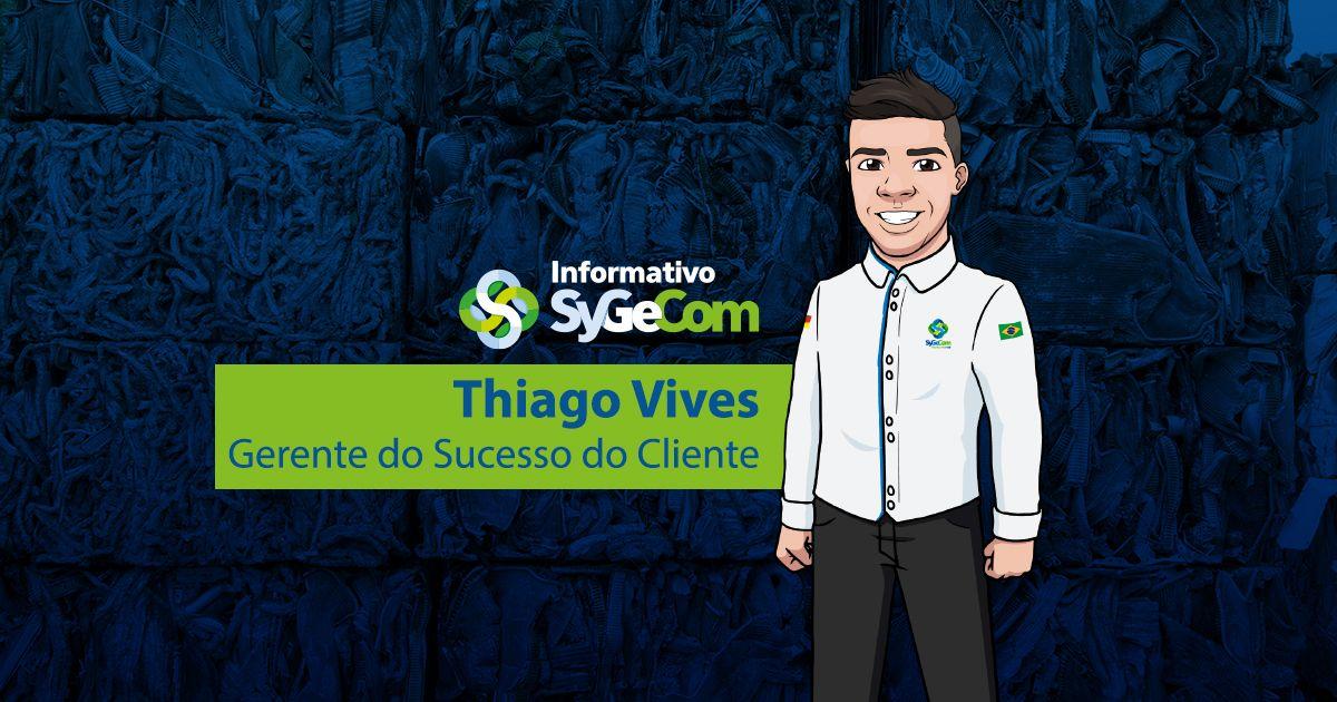 Conheça nosso Gerente de Sucesso do Cliente: Thiago Vives